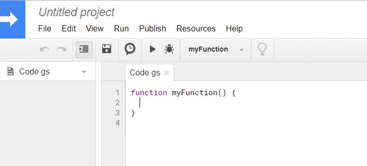 script editor Google open